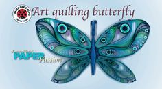 Art Quilling Butterfly