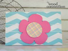 Flower Slat Sign