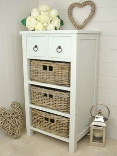 2 Drawer / 3 Basket Storage Unit ...