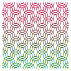 Matt Coors, Three versions of a new pattern design.