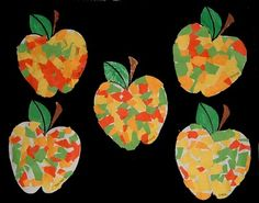 PATOUILLONS Preschool Apple Theme, Fall Preschool, Kindergarten Crafts, Preschool Crafts, Autumn Activities For Kids, Fall Crafts For Kids, Art Activities, Art For Kids, Autumn Crafts