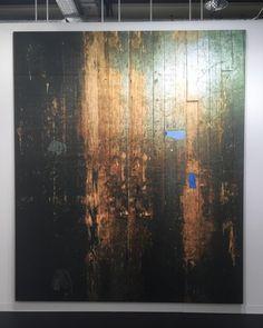 WADE GUYTON Untitled (2016) at Petzel (New York) at Art Basel