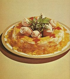 Chicken Mousse in Aspic.  A Cult Classic.  (Family Circle Salad Book, 1972)