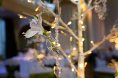 Down to the last detail... Gorgeous, innovative table decorations. See the blog here: http://thebowdonrooms.co.uk/our-wedding-was-a-magical-fairytale/