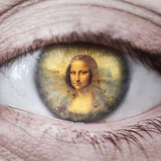 Eyes, Mona Lisa, Art, Keefers
