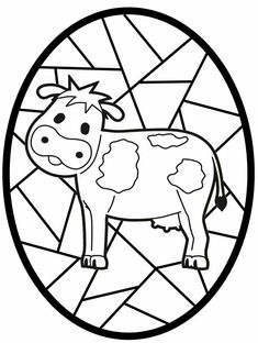Easter Egg Coloring Pages, Fall Coloring Pages, Mandala Coloring Pages, Coloring For Kids, Adult Coloring Pages, Coloring Sheets, Coloring Books, Year Of The Cow, Pebbles And Bam Bam
