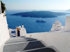 Tips for choosing special interest cruises - visit the gorgeious Greek island of Santorini  Photo by Marcel Germain