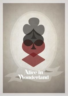 Adoring this minimalistic take in this creative poster for alice in wonderland. 10 Alternate & Minimalistic Disney Movie Posters by Rowan Stocks Moore - Alice in Wonderland Disney Films, Disney Movie Posters, Disney Art, Alice Disney, Disney Bound, Animated Movie Posters, Disney Animated Movies, Film Posters, Cartoon Posters