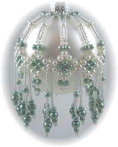 Some Beaded Ornaments I like to make...