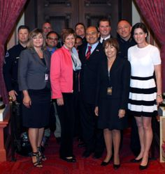 Monday, May 5, 2014, the CA State Senate recognized California police officers who died in the line of duty while protecting the people of California. #CaliforniaPeaceOfficersMemorial #FriendsofAnaheim — at Senate Chamber, State Capitol.