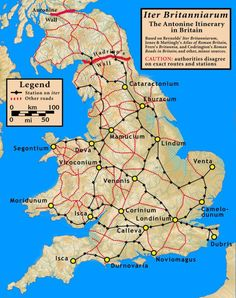 Roman roads in Britain--website has fascinating old maps showing everything from How British the Britons Feel to Commuter Maps. Uk History, Roman History, European History, British History, Scotland History, History Timeline, History Memes, Family History, Map Of Britain