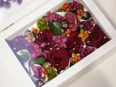 How to display preserved flowers