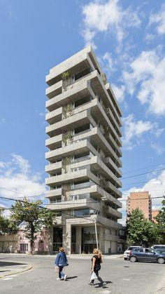 Edificio Pueyrredón 1101, Rosario, Argentina - Estudio Pablo Gagliardo - foto: Ramiro Sosa
