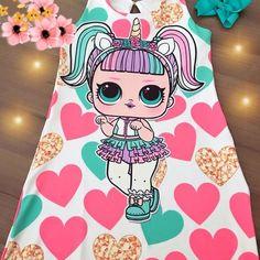 Sem legenda!!! Apaixonada! E você? Tam 2-3-4-5-6-7-8-9-10 anos corra e garanta já o seu!! #maedemenina #lolsurprise #vestidos… 10 Year Old Gifts, Couples African Outfits, Doll Fancy Dress, Happy Balloons, August Birthday, Kool Kids, Carnival Birthday Parties, Doll Party, Lol Dolls