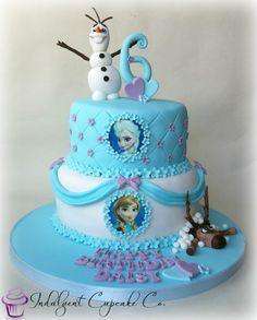 Frozen cake.....