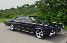 1966 Charger. I wished my dad never got rid of his 66 charger. I would look awesome like this one today.:(