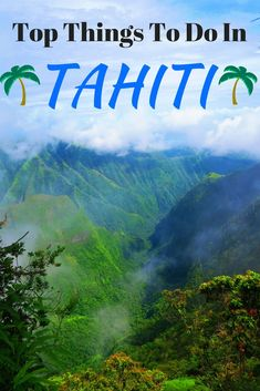A free guide to the top things to do in Tahiti island in French Polynesia, from black sand beaches, to colorful markets to thrilling rides. Bora Bora, Places To Travel, Places To See, Tahiti Vacations, Tahiti Islands, Semester At Sea, Tahiti French Polynesia, Polynesian Islands, Future Travel