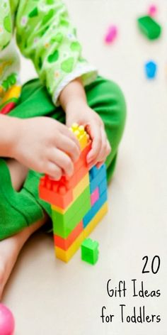 these gift ideas for toddlers are fantastic...they're not super commercial, and they'll really stand the test of time, both as kids grow and as durable playthings.