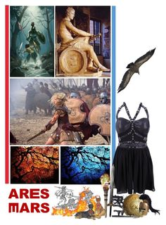 """""""Battle of the CHB Cabins - Round 2: Powers"""" by fashionqueen76 ❤ liked on Polyvore featuring ArtWall and Ancient Greek Sandals"""