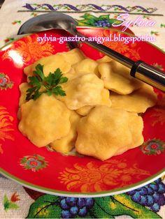 Ravioli | | Sylvia Gasztro Angyal Ravioli, Chicken, Meat, Food, Essen, Yemek, Buffalo Chicken, Cubs, Meals