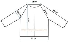 I needed a good knit sizing chart for a sweater, and like