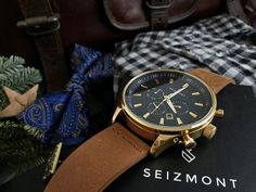 Theo Troika Chronograph Watch Chronograph, Rolex Watches, Leather