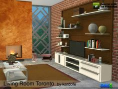 Download; http://sims4updates.net/furniture/toronto-livingroom-by-kardofe-at-tsr/