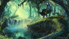 Zecora in the Everfree Forest, from My Little Pony, MLP