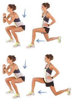 20 Minuten Online - So trainieren Sie Beine und Kondition - Videos