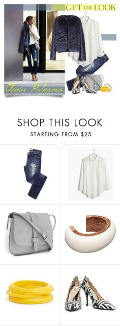 """""""Get The Look: Olivia Palermo"""" by cdshep ❤ liked on Polyvore featuring Madewell, Gap, Marni, ZENZii, Moschino and Shirtaporter"""