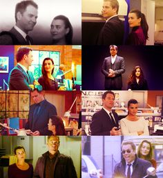 Tony and Ziva---kind of been missing them!!  ;(