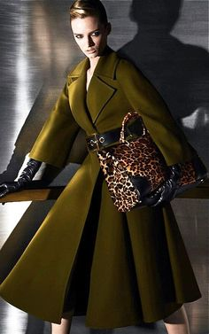 Gucci swing coat via: