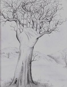 Hand Tree by ~ Amaya Kumikai