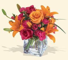 Arreglos florales en la decoración del hogar.