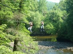 Zip-Lining in Tennessee @ Pigeon Forge