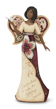 """EBN Grandmother, 9"""" EBN Angel Holding Dove - Perfectly Paisley Holiday - Pavilion Gift Company. $30"""