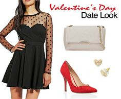 """Valentine's Day Date Outfit  What'sHappeningWednesdays: """"Love is In the Air - Valentines Day Ideas""""  http://eyesthroughthepublic.tumblr.com/post/76495573749/whatshappeningwednesdays-love-is-in-the-air  February 14th Valentine Day also recently known as Single Awareness Day (S.A.D.) lol Whether you hate this holiday, choose not to celebrate it or are always being showered with roses on this particular day I have it all here things to do for everyone!"""