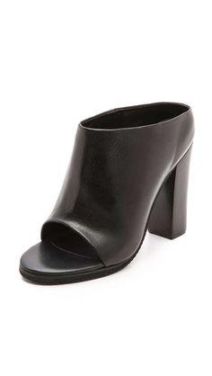 Tibi Leona Mules @gtl_clothing #getthelook http://gtl.clothing