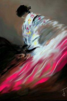 Le mouvement est le thème retenu par l'artiste.
