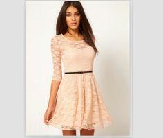 a5d69831ad Encontrá Vestido Corto Encaje Color Beige Importado T S - Vestidos en Mercado  Libre Argentina. Descubrí la mejor forma de comprar online.