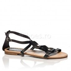 Sandale Fleur - Negru
