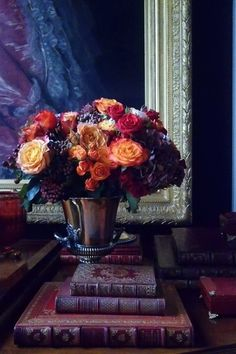 Beautiful floral arrangement perfect for Autumn.