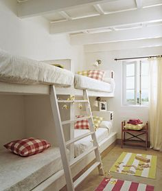 Bunk bed plan for playroom?