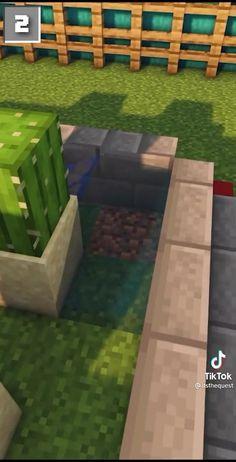 Minecraft Redstone, Minecraft Farm, Minecraft Plans, Minecraft Construction, Minecraft Bedroom, Minecraft Tutorial, Minecraft Blueprints, Minecraft Crafts, Modern Minecraft Houses