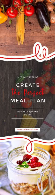 Only You Can Create the Perfect Meal Plan - Wundertastisch - Buying a generic meal plan might sound like a good idea, but the chances that you stick to it are s - # Healthy Balanced Diet, Balanced Life, Healthy Life, Good Healthy Recipes, New Recipes, Healthy Meals, Amazing Tools, Household Cleaning Schedule, Protein Diet Plan