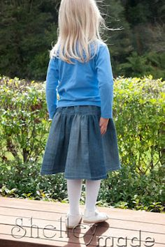 jeans to a twirly skirt