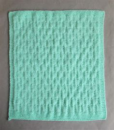 I started this new baby blanket last night ......... and I already know that I will love how it is going to turn out when it is completed. ...