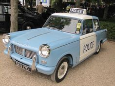 Triumph Herald 1200 Police car at GR 2015 British Police Cars, Old Police Cars, Old Cars, Car Themes, Weird Cars, Military Vehicles, Police Vehicles, Emergency Vehicles, Car Car