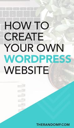 Create self-hosted WordPress website with this simple 5 step Siteground guide. Wordpress Help, Wordpress Website Design, Wordpress Plugins, Wordpress Support, Wordpress Admin, Wordpress For Beginners, Blogging For Beginners, Make Money Blogging, Blogging