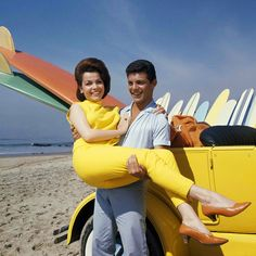 Annette Funicello with Frankie Avalon